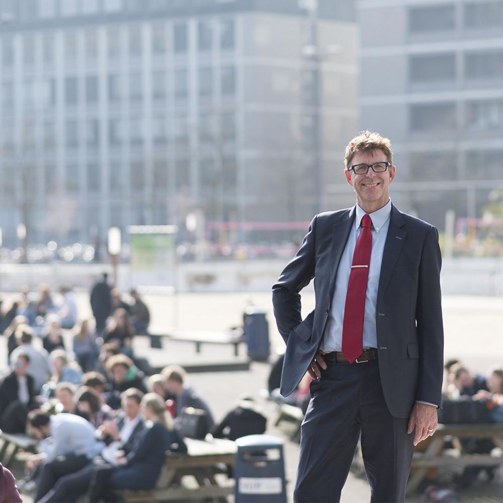 Erik Lutjens professor VU Amsterdam